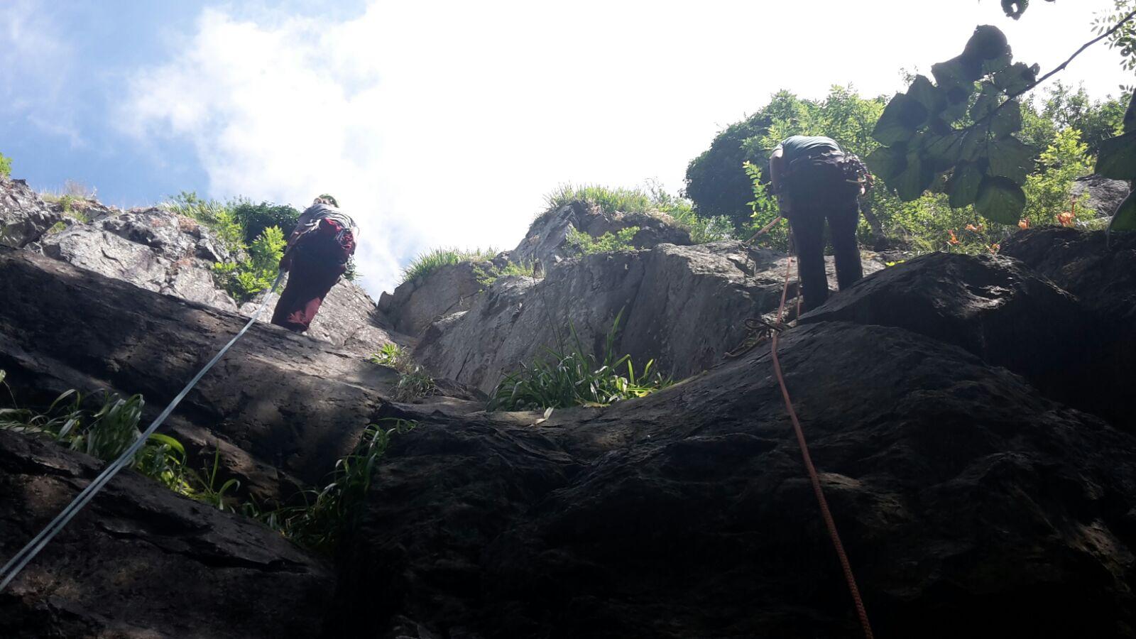 Klettern Mägdeberg
