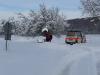 Wegverhältnisse im Winter